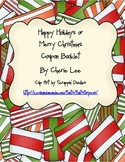 Holiday/Christmas Coupon Booklet Printable