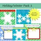 Holiday/Winter Pack of Decorative Papers