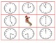 Telling Time to the hour, half hour, and quarter hour: winter themed game