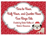 Telling Time to the hour, half hour, and quarter hour: win
