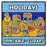 Printable Clipart - Holidays numbers