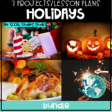 Holidays (7 Projects and Lesson Plans) Bundle