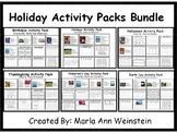 Holidays Activity Packs Bundle