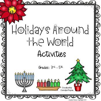 Holidays Around The World Activities