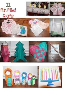 Holidays Around The World Craftivities