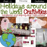 Holidays Around The World Craftivities