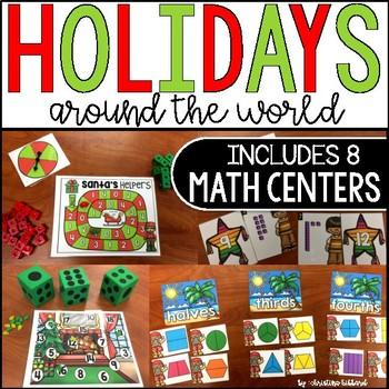 Holidays Around The World: Math Centers