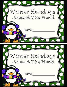 Holidays Around The World Mini-Book