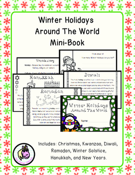 Holidays Around The World Mini-Book