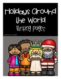 Holidays Around The World Primary Lined Writing Paper