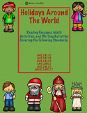 Holidays Around The World-Reading, Writing, and Math