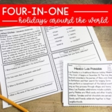 Holidays Around The World Upper Elementary Reading Compreh
