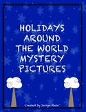 Holidays Around the World 120 Chart Mystery Pictures