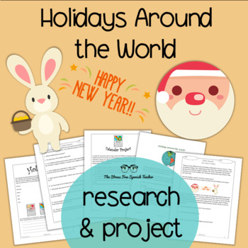 Holidays Around the World: Research, Critical Thinking, Project