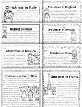 Holidays Around the World {18 Passages for Close Reading}