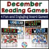 December Activities Bundle: Holidays Around the World Reading Games