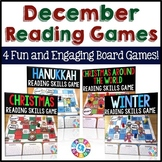 December Activities Bundle: Holidays Around the World Reading Games