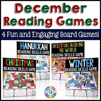 December Activities Bundle: Holidays Around the World Read