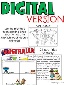 Holidays Around the World - Social Studies Interactive Activities