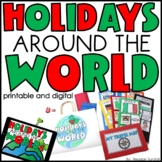 Holidays Around the World Social Studies Interactive Activities
