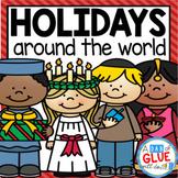 Winter Holidays Around the World (Crafts, PowerPoints, Wor