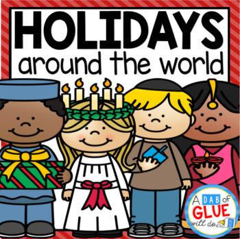Winter Holidays Around the World (Crafts, PowerPoints, Worksheets, etc.)