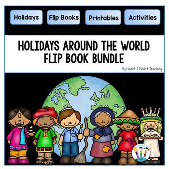 Holidays Around the World: 6 Flip Books for Diwali, Kwanzaa, Hanukkah, La Befana