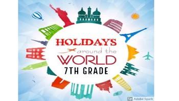 Holidays Around the World-7th Grade GSE