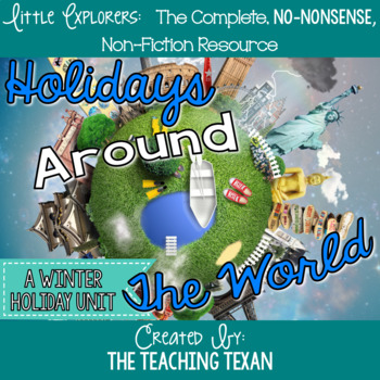 Holidays Around the World:  A Non-Fiction Winter Holiday Unit