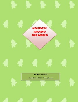 Holidays Around the World- A SS Unit