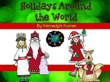Holidays Around the World ~ A complete holiday unit!