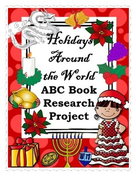 Holidays Around the World ABC Book Research Project-Christ