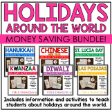 Holidays Around the World Activities Bundle