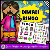 Holidays Around the World Activities (Diwali Activities Bingo)