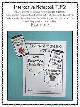 Holidays Around the World Activities Journal