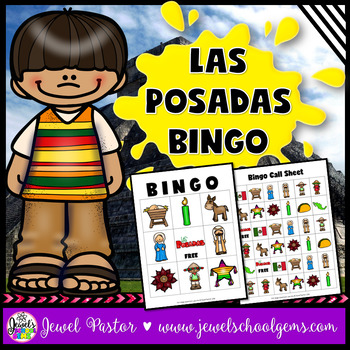 Holidays Around the World Activities (Las Posadas Activities Bingo)