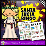 Holidays Around the World Activities (Santa Lucia Day Activities Bingo)