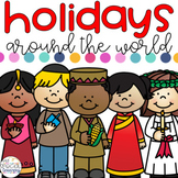 Holidays Around the World Activities for Special Education - BUNDLE