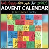 Holidays Around the World Advent Calendar Bulletin Board D