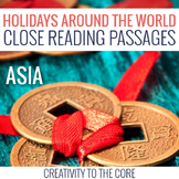 Holidays Around the World: Asia Edition Close Reads