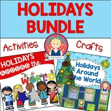 Holidays Around the World BUNDLE for At Home Learning