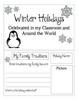 Holidays Around the World Book