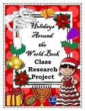 Holidays Around the World Class Research Project-Christmas, New Years, Winter