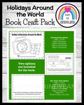 Holidays Around the World Book: Kwanzaa, Las Posadas, Hanukkah, Christmas