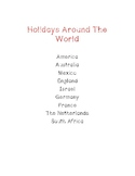 Holidays Around the World Book and Quick Guide