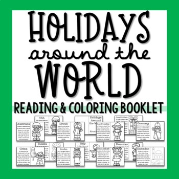 Holidays Around the World Booklet