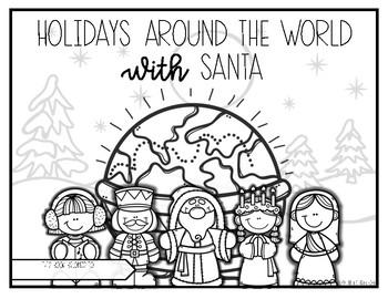 Holidays Around the World Booklet and Passport
