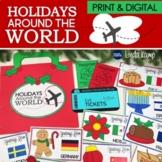 Holidays Around the World, Christmas Around the World, Activities & PowerPoint