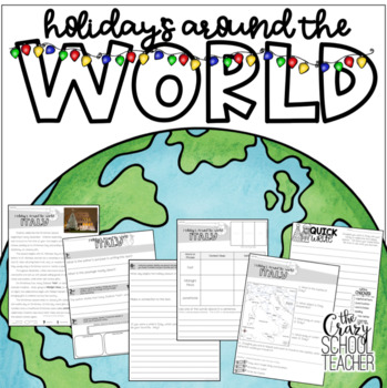 Christmas Around the World, Reading Passages, Holidays Around the World, Kwanzaa
