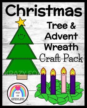 Christmas Crafts: Tree and Advent Wreath (Holidays Around the World)